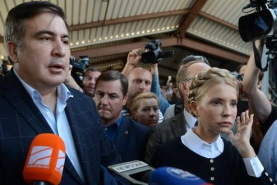МВД Украины ищет основания для задержания Саакашвили