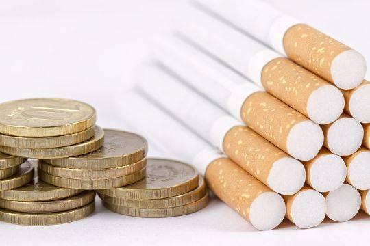 В будущем году стоимость сигарет планируют поднять до220 руб.