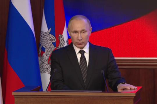 Путин: Российская Федерация превосходит любого потенциального противника
