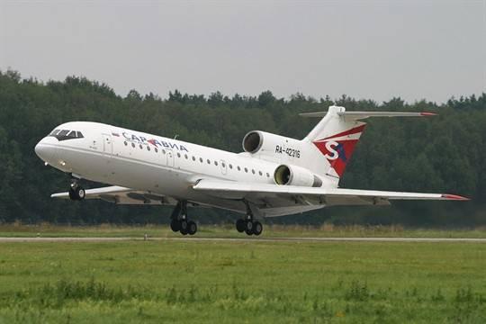 Росавиация запретила'Саратовским авиалиниям летать за границу
